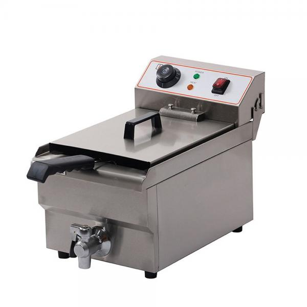Industrial Automatic Continuous Belt Snack Food Fryer #1 image