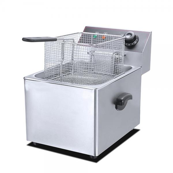 Continuous Fish Fryer with Capacity 250-500kgs/ Hr Canned Fried Fish #1 image