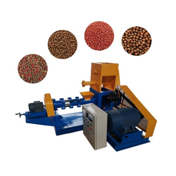 Commercial Fish Feed Pellet Machine/Fish Food Pellet Machine/Floating Fish Feed Extruder #1 image