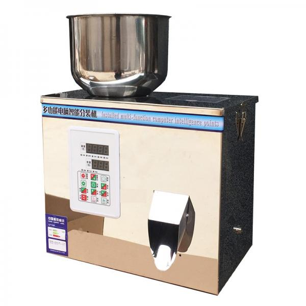 Semi Automatic Double Scale Detergent Powder Weight Filling Packaging Machine #1 image