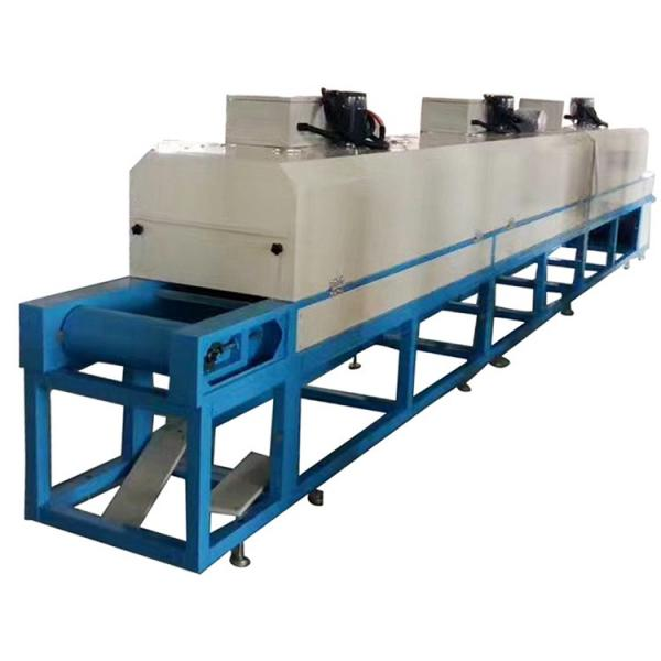 Industrial Multi Layer Mesh Belt Dryer for Wood Chips #3 image