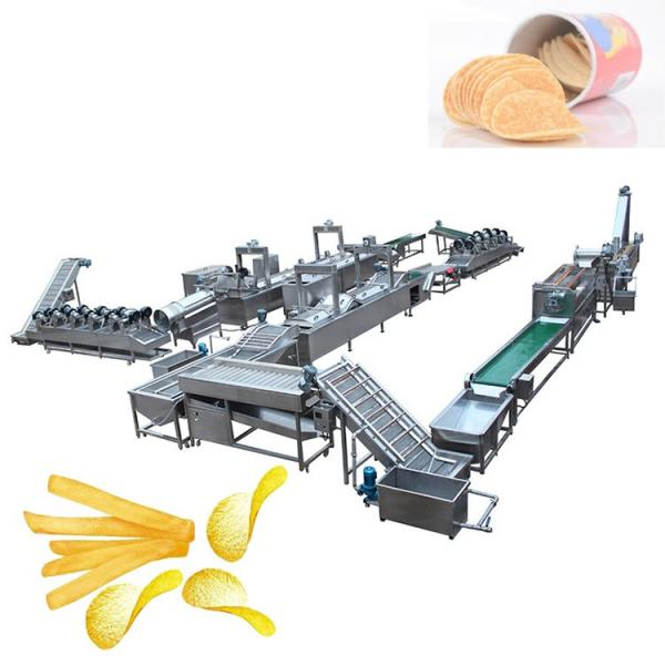 Commercial Used Stainless Steel 304 Frozen French Fries Making Machine Potato Chips Production Line #1 image
