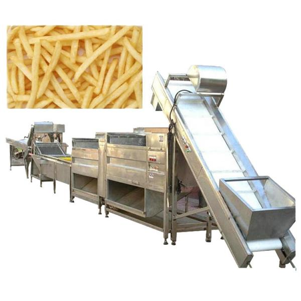 Commercial Used Stainless Steel 304 Frozen French Fries Making Machine Potato Chips Production Line #3 image