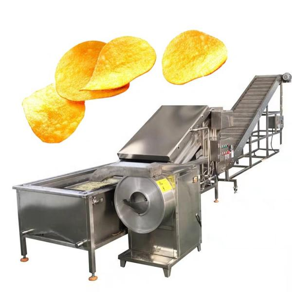Automatic Banana Slice /Potato Chips /Frozen French Fries Production Line #2 image