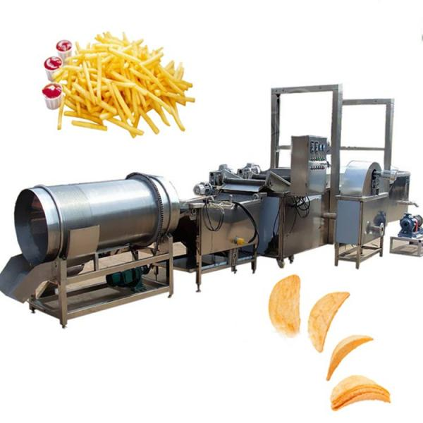 Commercial Used Stainless Steel 304 Frozen French Fries Making Machine Potato Chips Production Line #2 image